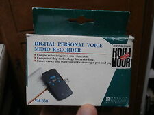 Registratore Digitale DIGITAL PERSONAL VOICE MEMO OREGON SCIENTIFIC VR 838