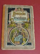 Kombinations Klappbilderbuch Kinderbuch Komische Verwandlungen ca. 1850