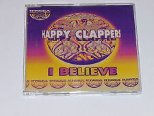 HAPPY CLAPPERS - I Believe - 1995 UK 6-mix CD single