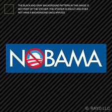 Nobama Sticker Die Cut Decal Self Adhesive Vinyl