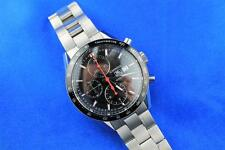 Tag Heuer Carrera Chronograph Automatic Black Dial Men's Watch CV2014-2