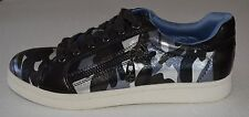 GUESS Fashion Sneakers GGBRIONI2 Black/ Silver Camo Women's Size 7.5