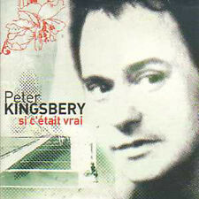 CD single Peter KINGSBERY COCK ROBIN Si c'etait Promo 2 TRACK CARD SLEEVE