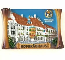 HB Hofbräuhaus Beer Brewery München Munich Germany Souvenir Resin Magnet