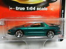1:64 AUTO WORLD Deluxe A2 = Green 1993 Pontiac Firebird T/A *NIP*