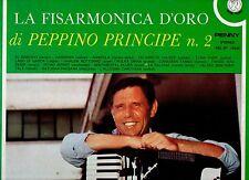 PEPPINO PRINCIPE disco LP 33 giri LA FISARMONICA D'ORO N.2 made in ITALY