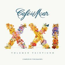 CAFE DEL MAR 21 feat.KINOBEE, NAUTIC, CAIA, FLAKO, HIMALIA, DEEB, ISAN 2 CD NEU