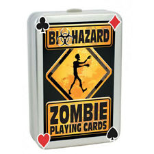 Scary Zombie Playing Cards Novelty Gift Kids Adults Fun Funny Stocking Filler