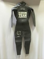 Orca S1 Fullsleeve Triathlon Wetsuit w/ Team in Training Logo Size 5 123-136 lbs