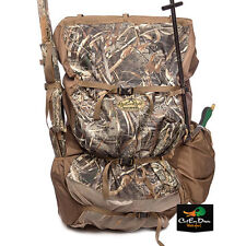 NEW RIG'EM RIGHT WATERFOWL REFUGE RUNNER BACK PACK DECOY BAG BLIND MAX-5 CAMO