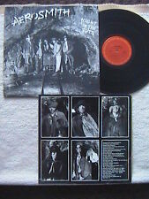 "AEROSMITH ""NIGHT IN THE RUTS"" LP 1979 WITH RARE INNER SLEEVE WITH FAN CLUB INFO"