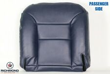 95-99 Chevy Tahoe Z71 LIFTED 2-Door 4X4 PASSENGER Bottom Leather Seat Cover Blue