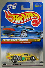Hot Wheels 1:64 Scale 1997 Flyin' Aces Series SOL-AIRE CX4 (3 SPOKES)