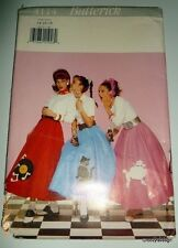 Poodle Skirt Sock Hop 1950s Rockabilly Circle Record Rock Costume sewing pattern
