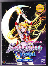 *NEW* SAILOR MOON: CRYSTAL - 26 EPS*ENG SUBS*ANIME DVD*US SELLER*FREE SHIPPING!*