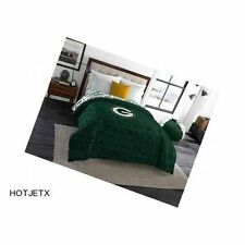 GREEN BAY PACKERS COMFORTER TWIN FULL NFL FOOTBALL HOME TEAM BED SUPERBOWL HD TV