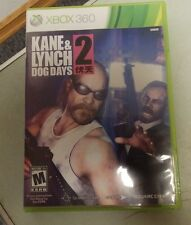 KANE & LYNCH 2 DOG DAYS XBOX 360 PLAYED LESS THAN 5 HRS GUARANTEED TO WORK!!!!!!