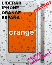 Liberar iPHONE Orange España 3G ,3GS, 4, 4S, 5 ,5s,5c INSTANT