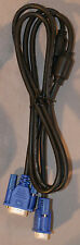 5 ft VGA SVGA PC Monitor TV video cable male to male w/line filter - NEW