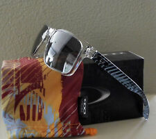 NIB 100% Authentic LE Oakley Holbrook Sunglasses Clear Max Fear Light w/ Grey