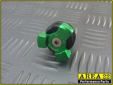 Area 22 Kawasaki Z125 Z 125 2016 Oil Dip Stick Filler Cap Black / Green