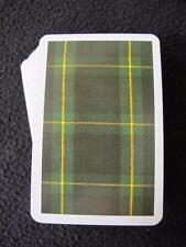 VINTAGE 1980's PACK of PIATNIK PLAYING CARDS - SCOTTISH SCOTLAND TARTAN