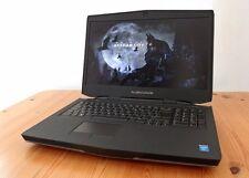 Alienware 17 i7-4710MQ, 1TB HDD. 256 SSD. GTX 860M, 8GB RAM Win10 Gaming Laptop