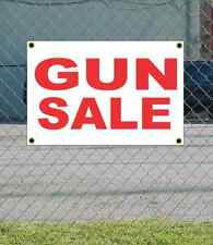 2x3 GUN SALE Red & White Banner Sign NEW Discount Size & Price FREE SHIP