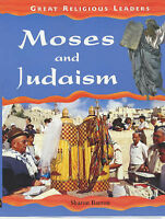Moses and Judaism (Great Religious Leaders) Sharon Barron Very Good Book