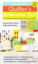 All-In-One Quilter's Reference Tool - great reference book for all quilters