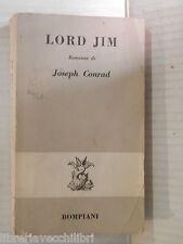 LORD JIM Joseph Conrad Bompiani 1963 libro romanzo narrativa racconto storia di