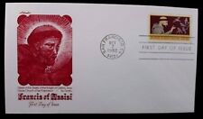 1982 FDC Francis of Assisi of San Francisco 20c Stamp Cover #2023