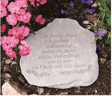 """Kay Berry Our family chain - 90220 Memorial Stone 13"""" x 13"""" x 3.5"""" NEW"""