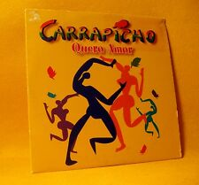 Cardsleeve Single CD Carrapicho Quero Amor 2TR 1998 Trance, Latin Pop