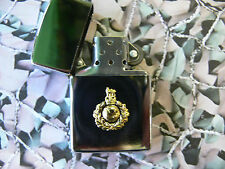 Army Military Regimental Lighter With Royal Marines On Front RM (light)