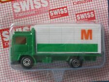 Matchbox Swiss Promo Volvo Container Truck Migros Toy Model Delivery Truck in BP