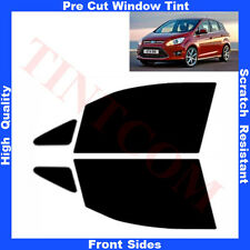 Pre Cut Window Tint Ford C-Max 2011-... Front Sides Any Shade