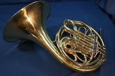 Vintage Martin Model 7600 Double French Horn (Made in USA) w/Case, Mouthpiece