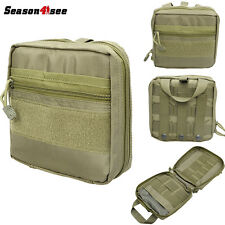 1000D OD Molle Military Tactical  EDC Utility Tool Bag Medical First Aid Pouch