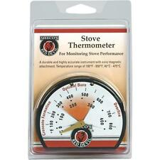 Meeco´s Red Devil Magnetic Porcelain Steel Stove Thermometer 425