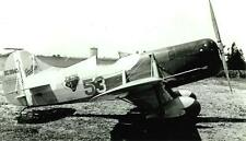 Granville Gee Bee #53 Nc11049 Left View B&W Photograph 5X7!
