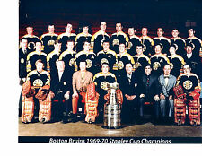 1969 1970 STANLEY CUP CHAMPIONS BOSTON BRUINS 8X10 TEAM PHOTO HOCKEY