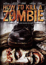 How to Kill a Zombie (DVD, 2015) Brand New Horror