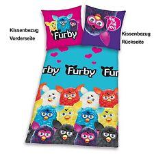 FURBY Hasbro chaud Hiver Linge de lit 135/200cm Flanelle PRODUIT NEUF University