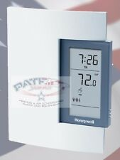 HONEYWELL TL8100A1008  7-Day PROGRAMMABLE THERMOSTAT FOR LINE AND LOW VOLTAGE