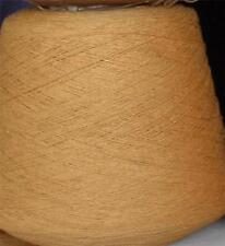 COTTON 6/2 - 2520 YPP LACE FINGERING WEIGHT CONE YARN 50 LBS MUSTARD (C100C)