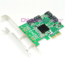 SATA III 3.0 4-Port PCI-e Express 9230 RAID 0/1/10 Controller Card Adapter 6Gb/s