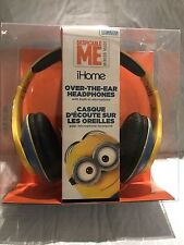Despicable Me Minions Headphones by iHome with Mic  BRAND NEW !!