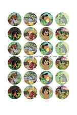 24x JUNGLE BOOK edible Cup Cake Toppers ICING sheet birthday cake party