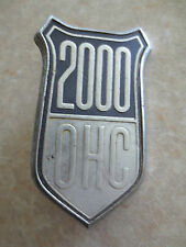 Original classic Ford Cortina 2000 OHC badge